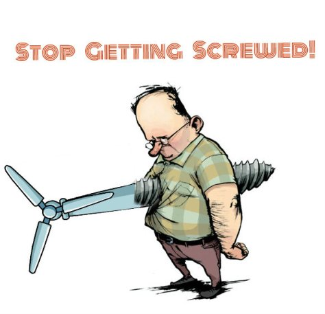 Image result for screwed by wind power cartoon