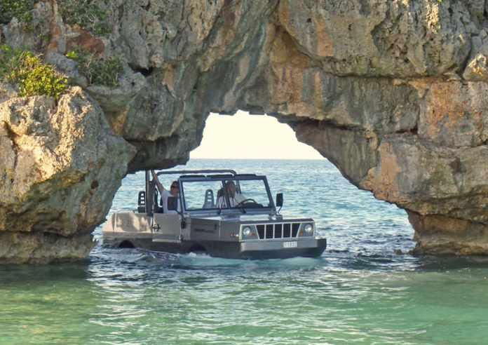 EXUMA  50-meter luxury motor yacht jeep