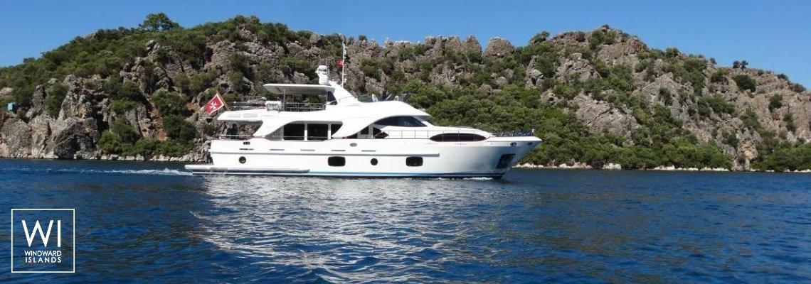 Luxury Yacht Charter Rebecca V Benetti Yacht 26M