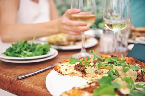 Pizza Delivery and Wine Pairing