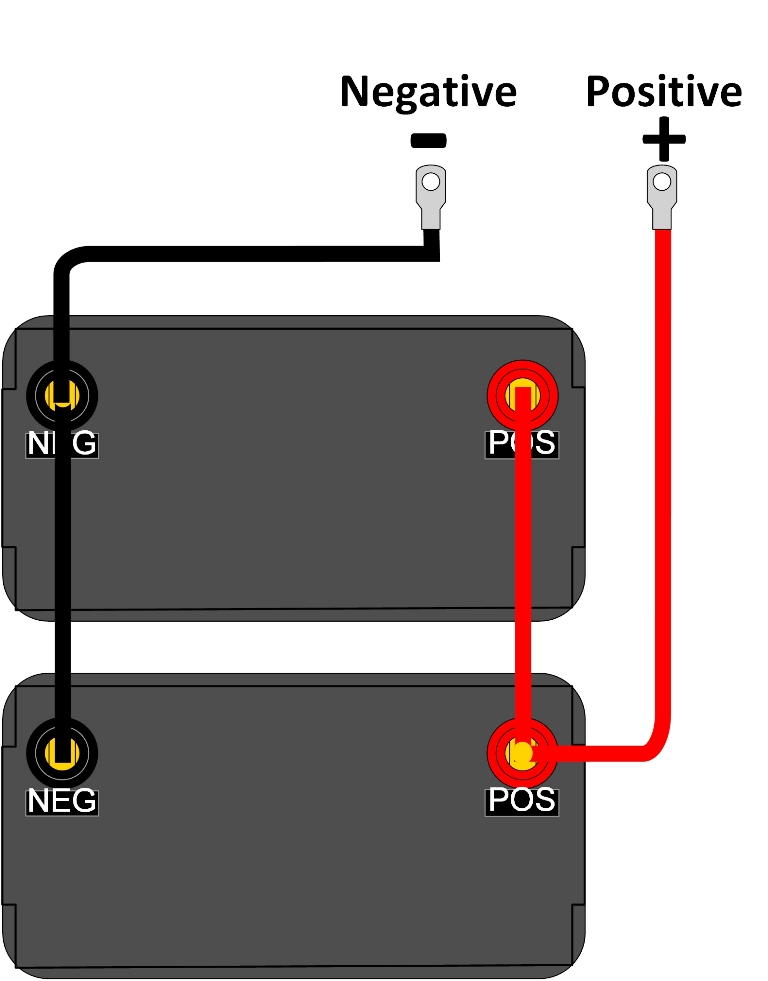 Wiring Two 9v Batteries In Parallel