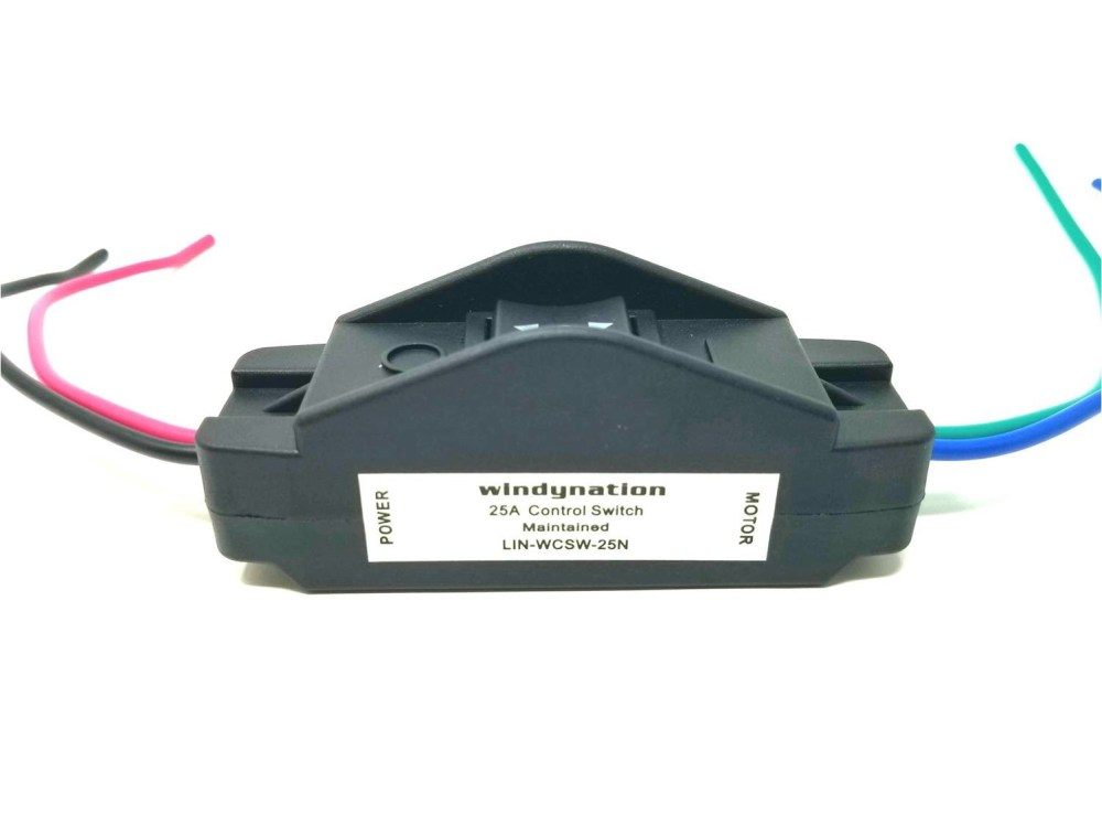 medium resolution of windynation 25a dpdt forward reverse up down reverse polarity switch for hoist winch crane motor linear actuator
