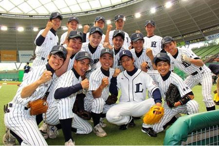 青島野球部西武ドームへ