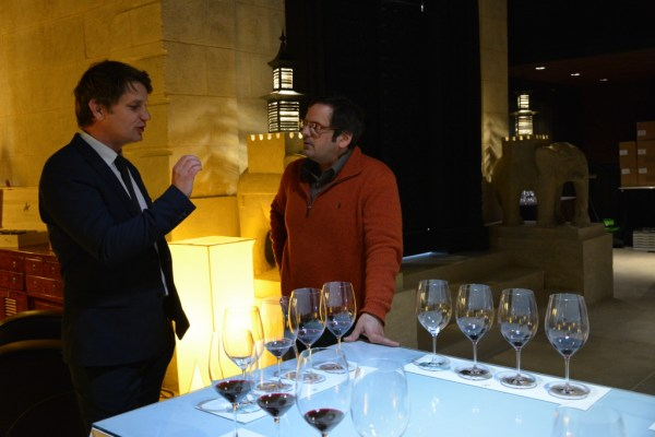 Tasting Cos with Aymeric de Gironde