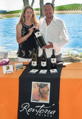 Laurie Wolfe and Oscar Rentería, Rentería Wines.