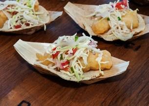 Winery Chefs , baja fish tacos.