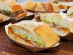 Winery Chefs, Pork tortas (sandwiches).