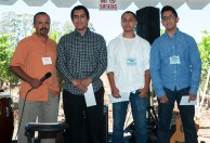 MAVA scholarship winners.