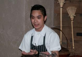 Pabu Restaurant Sous Chef Ronnie Taylor. (Edgar Solís