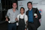 Charles Rambaud, Sous Chef Ronnie Taylor and Somm. Josh Orr
