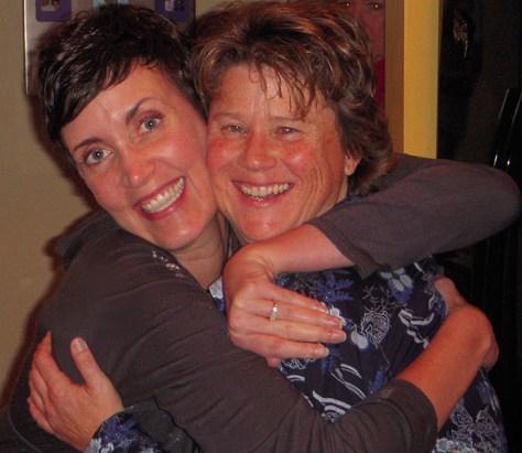 Maureen and Kari