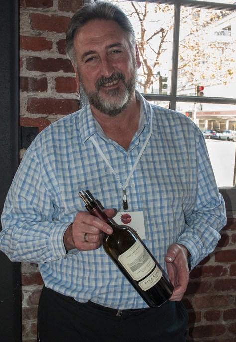 Michael Beaulac, Winemaker for Pine Ridge Vineyards