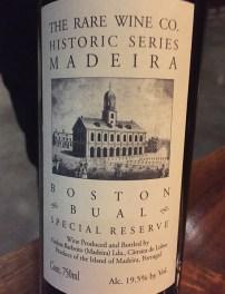 Madeira wine pairing