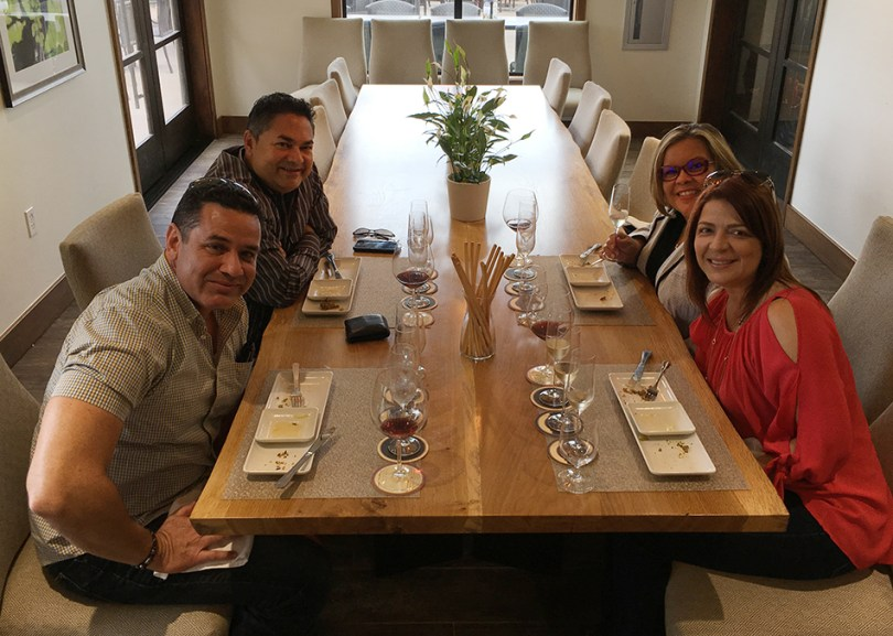 Gloria Ferrer Wine and Food Pairing Experience