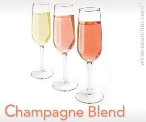 champagne blend wine information