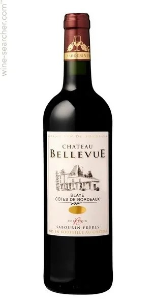 Chateau Bellevue Cotes De Bordeaux Blaye France