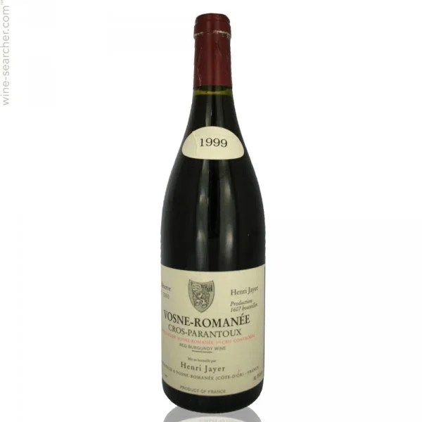 1999 Henri Jayer Cros Parantoux, Vosne-Romanee ... | prices, stores,  tasting notes and market data