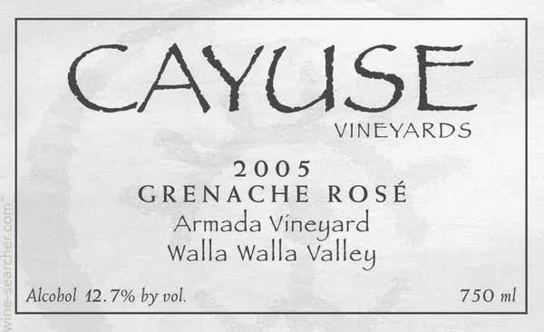 2013 Cayuse Vineyards Edith Armada Vineyard Gr