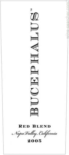 Black Stallion Winery 'Bucephalus' Red, Napa Valley