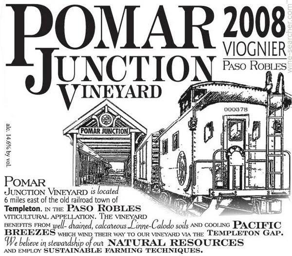 2013 Pomar Junction Vineyard Viognier, Paso Robles