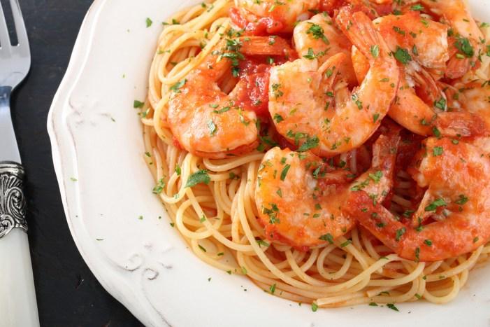 Espaguete com camarão | Winepedia