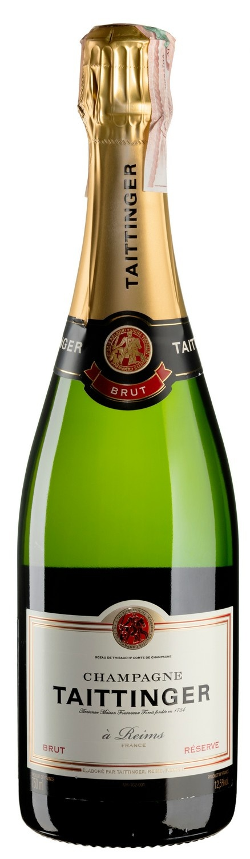 Шампанское Taittinger Brut Reserve Set 6 bottles (Тэтэнже Брют Резерв Сет 6 бутылок) 6x750 мл | Wine.ua