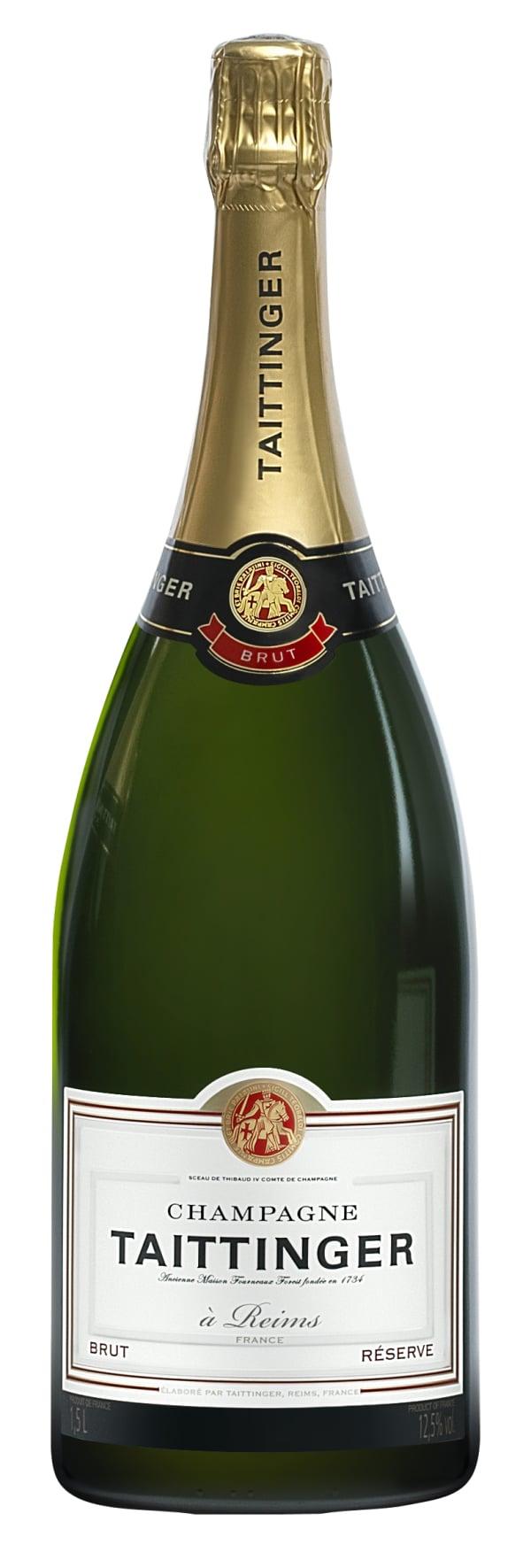 Шампанское Taittinger Brut Reserve Magnum 15L (Тэтэнже Брют Резерв Магнум 15Л) 15 л | Wine.ua