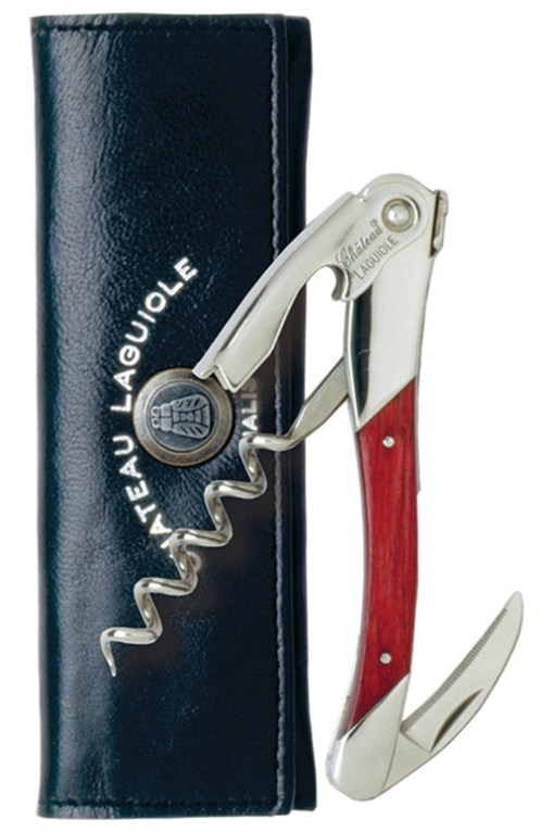 Chateau Laguiole Waiter's Corkscrew – Red Stamina Wood