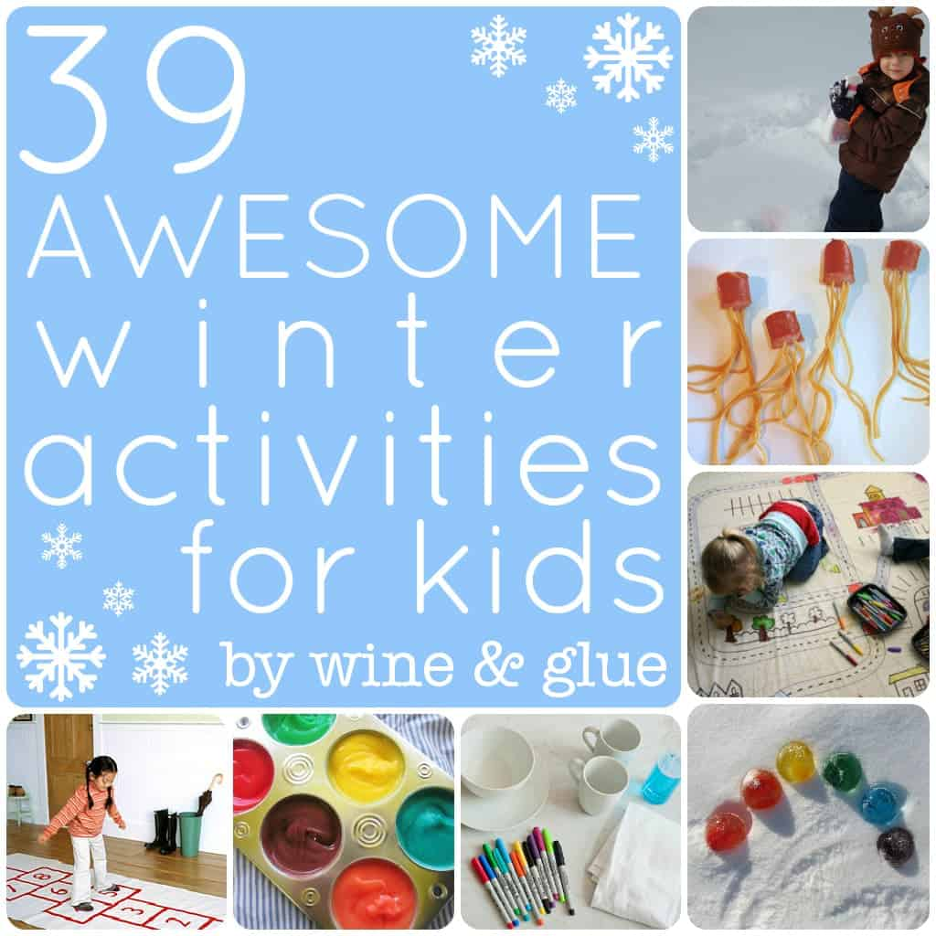 39 Awesome Winter Activities For Kids