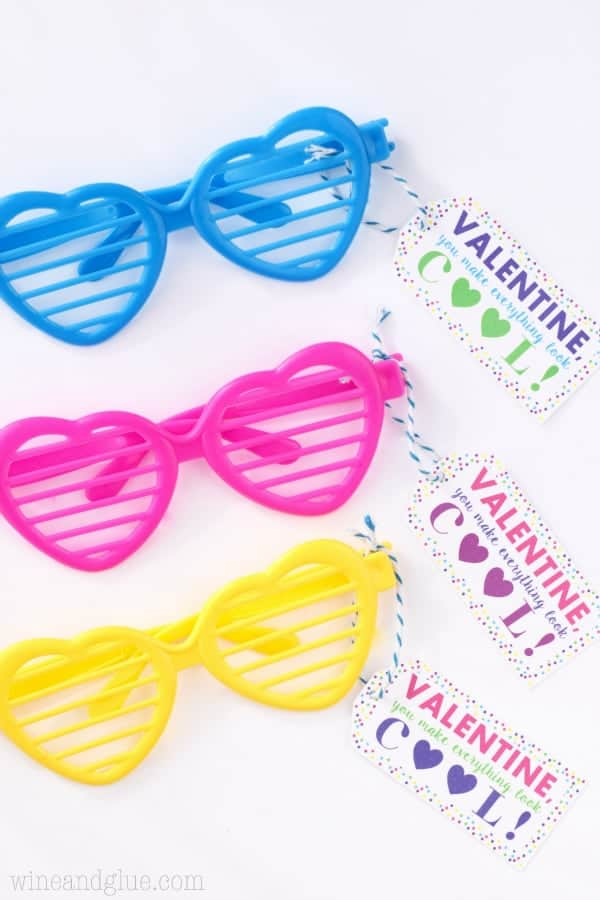 Valentine Sunglasses Printable PDF Amp Silhouette Print And