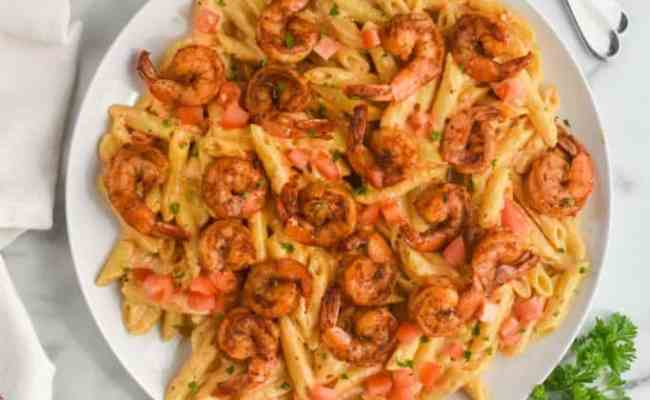Creamy Cajun Shrimp Pasta Recipe Wine Glue