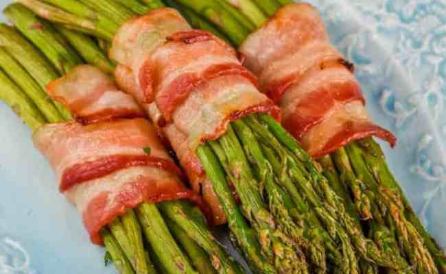 Bacon Wrapped Asparagus Oven Wine Glue