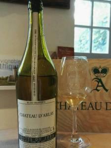Blanc Tradition 1999. Chateau d'Arlay, Jura, France. July 2016.