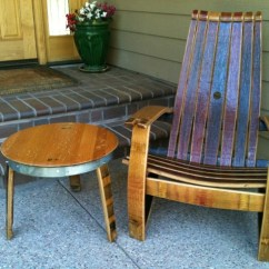 Wine Barrel Chair Air Filled Products Patio Furniture Adirondack To Protect The Beauty Of For Years Come