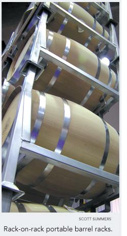 product review barrel racks