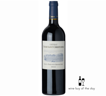 Tour St Christophe 2014 St. Emilion Grand Cru | 94JS