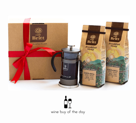 Gourmet Coffee Gifts from Café Britt