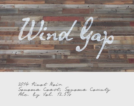 Wind Gap Pinot Noir Sonoma Coast 2014