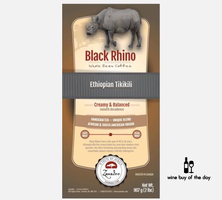 Zawadee Black Rhino Ethiopian Coffee
