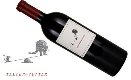 Teeter-Totter Cabernet Sauvignon 2014 | Hedonistic & Opulent | Versatile Food Wine! Pairs w/Vegetarian, Red Meat, Cheese, Comfort Foods | Serve 58-62°F | Drink now thru 2025 | 92WA | Red Wine | Cabernet Sauvignon | Napa Valley, CA | Winemaker Benoit Touquette