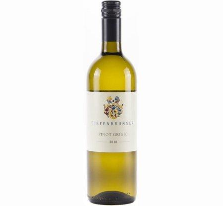 Tiefenbrunner Pinot Grigio Vigneti delle Dolomiti IGT 2016 | Crisp & Pure | Versatile - Pairs w/ Shellfish, Fish, White Meat, Exotic/Spicy, Soft Cheese | Serve 40-50°F | Drink now thru 2022 | 91WA | White Wine | Pinot Grigio | Trentino-Alto Adige/Sudtirol, Italy
