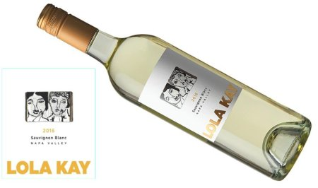 Lola Kay Sauvignon Blanc 2016 | Clean & Refreshing | Pairs w/White Meat, Fish, Shellfish, Hard Cheese| Serve 50-55°F | Drink now thru 2020 | 90WA | White Wine | Sauvignon Blanc | Napa, CA | Winemaker Tim Milos