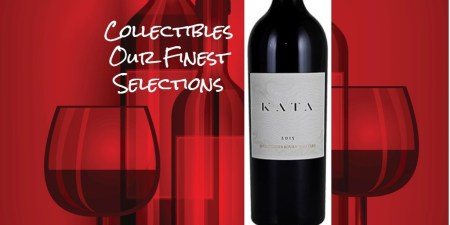 Kata Cabernet Sauvignon 2015 | Collectible | Cellar Selection | Pairs w/Red Meat, Comfort foods, Hard Cheese | Serve 60-65°F | Drink now thru 2030 | 97AG | Red Blend | Cabernet · Petit Sirah| Napa, CA | Winemaker David Beckstoffer