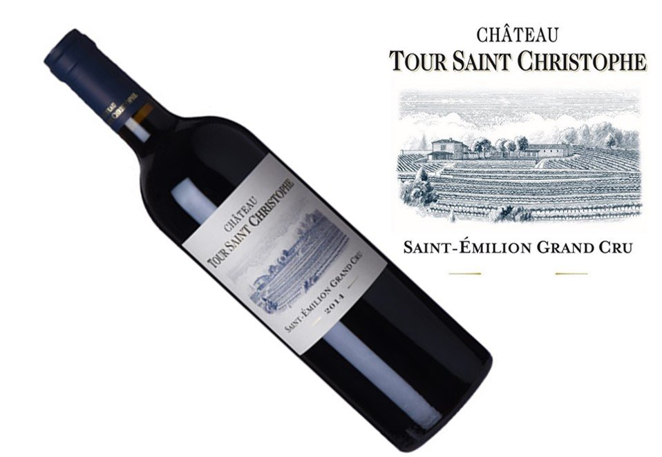 Tour Saint Christophe St. Emilion Grand Cru 2014 | 1.5L
