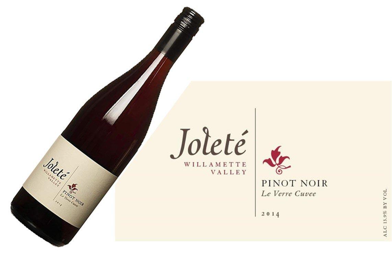 Joleté Le Verre Cuvée Pinot Noir 2014