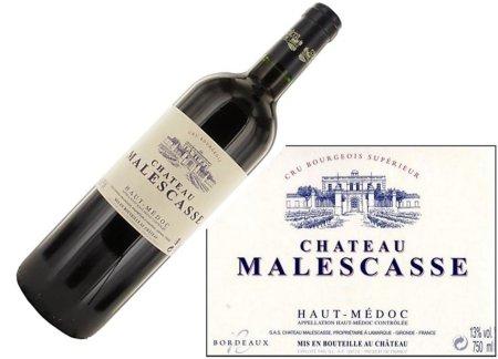Château Malescasse Haut-Médoc 2015