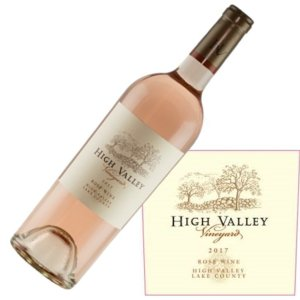 High Valley Vineyards Rose 2017
