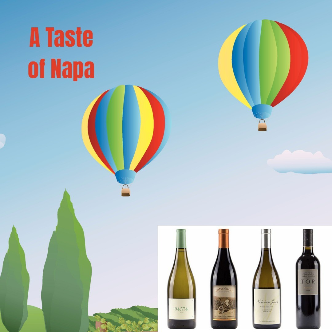Taste of Napa Wine Set
