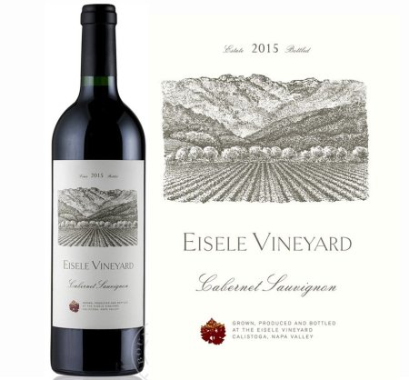 Eisele Vineyard Cabernet Sauvignon Napa Valley 2015