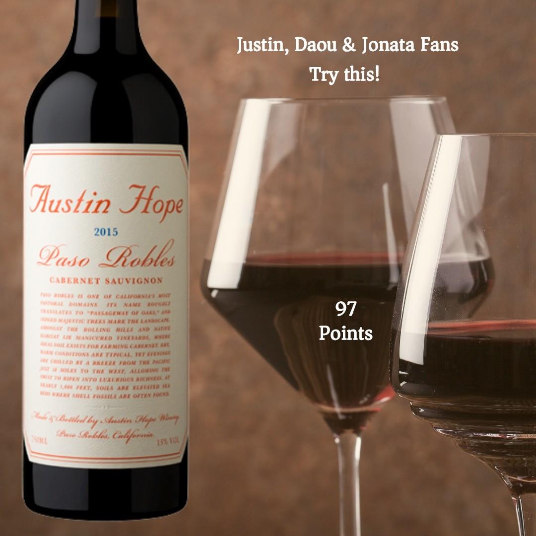 Austin Hope Cabernet Sauvignon 2015 Wine Buy Of The Day